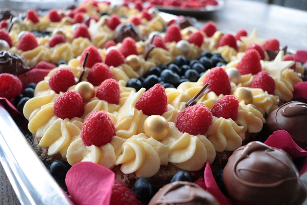 Suksessterte - tallkake - festkake - kake til jubilanten - Tove Holter - Idéfull