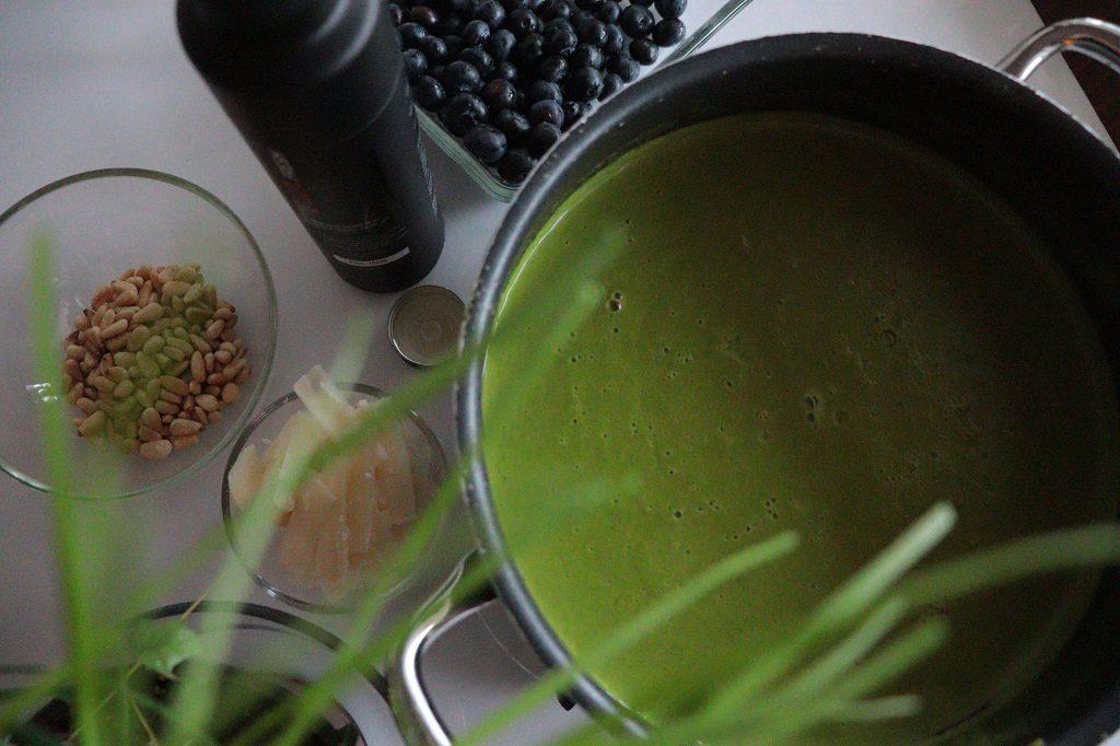 Grønn ertesuppe - Oppskrift Idefull - Toves matglede - Tove Holter