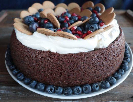 Pepperkakekake - Pepperkake kake - Oppskrift Idefull - Toves Matglede - Tove Holter
