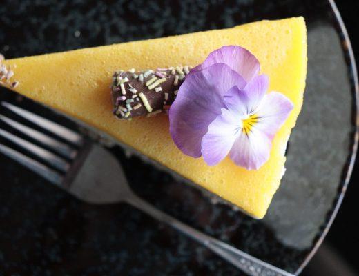 Ostekake med sitron og appelsin - Oppskrift Idefull - Inspirert av Tove Holter