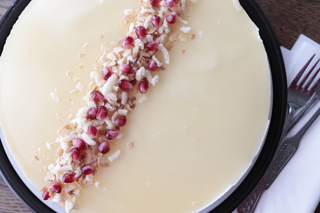 Humlesiderostekake - ostekake med sider - ostekake med eplesider - hardangerkake - oppskrift idefull - inspirert av Tove Holter