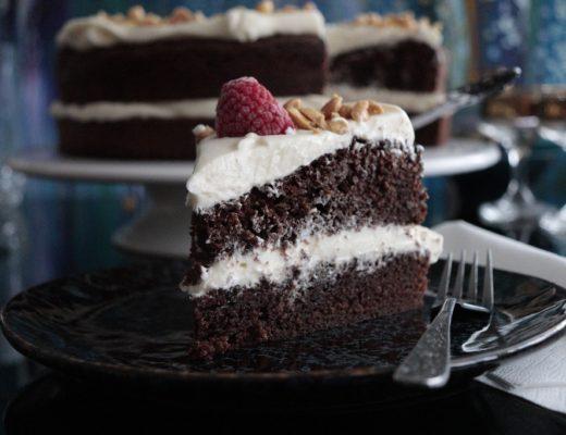 Sjokoladekake med Nugatti - Nugattikake - Oppskrift Idefull - Inspirert av Tove Holter